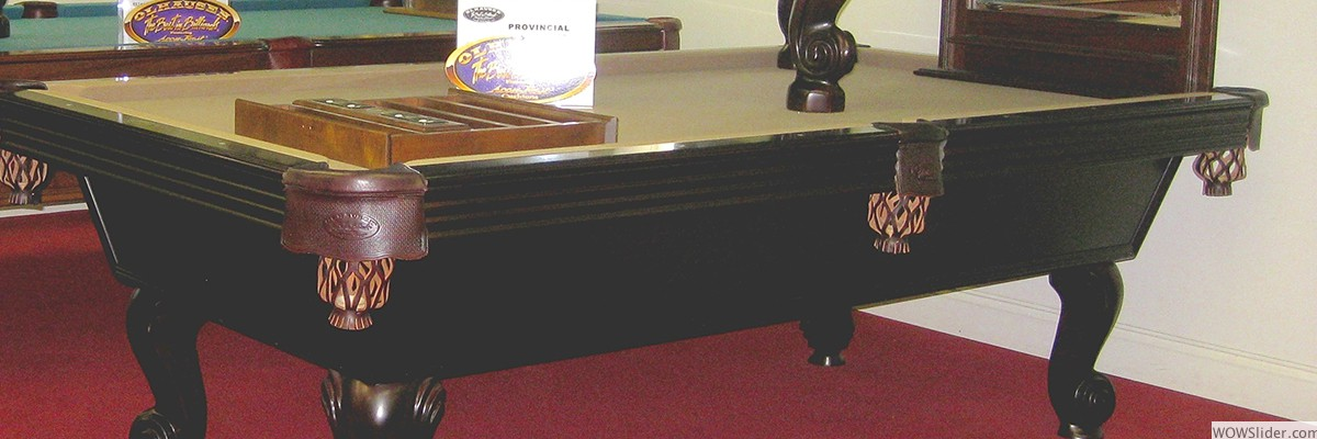 We Feature A Large Variety Of Olhausen Pool Tables. ...